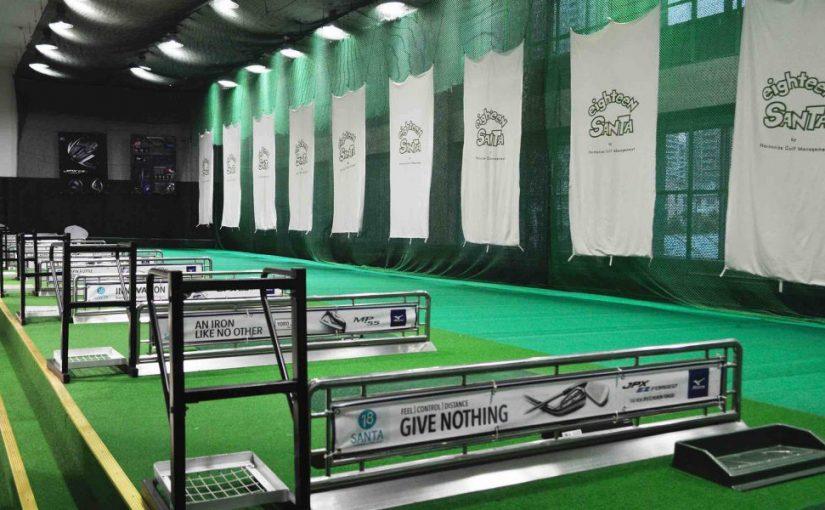 450RMB 1ヶ月無制限で練習し放題!上海ゴルフ