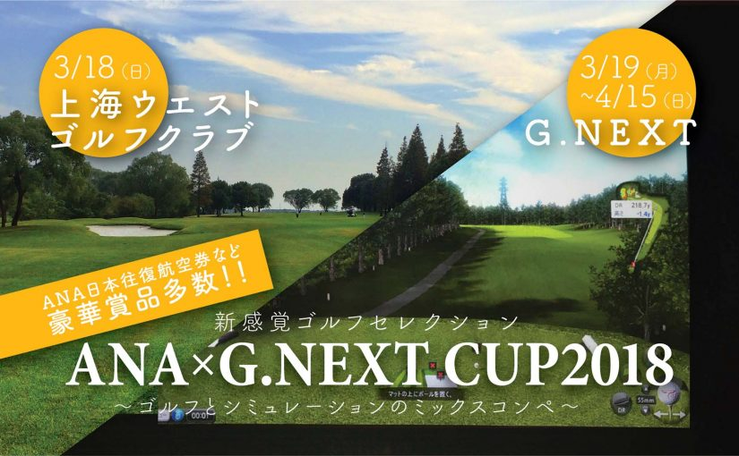 ANA×G.NEXTCUP2018 エントリーページ